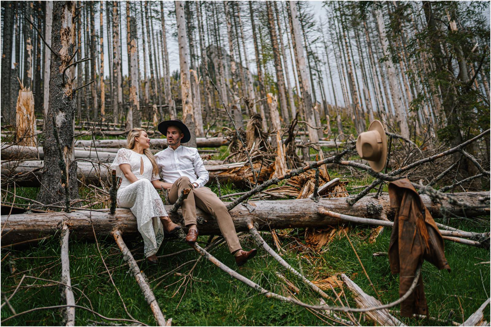 Amanda & Błażej | ślub i sesja w górach 79