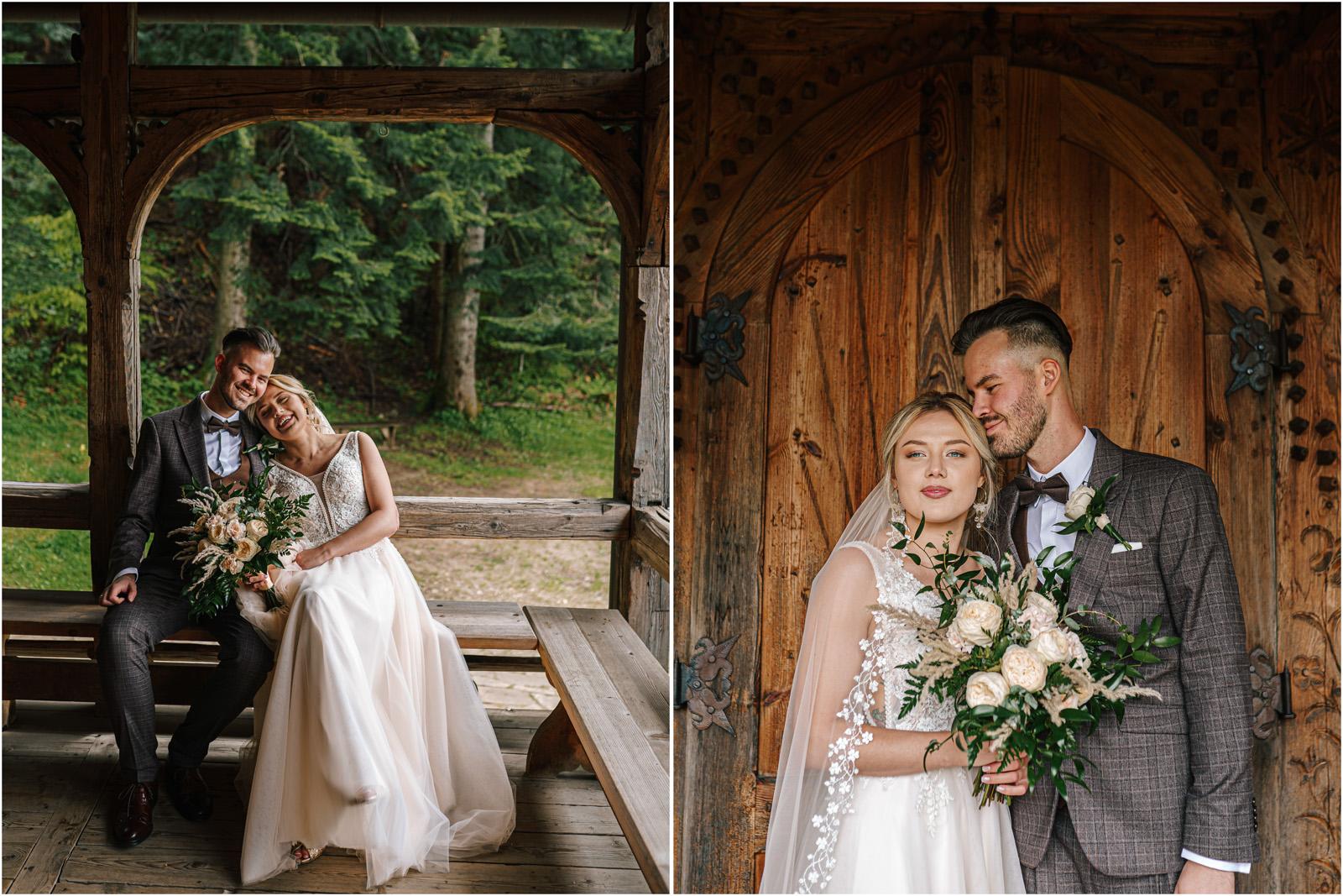 Amanda & Błażej | ślub i sesja w górach 43