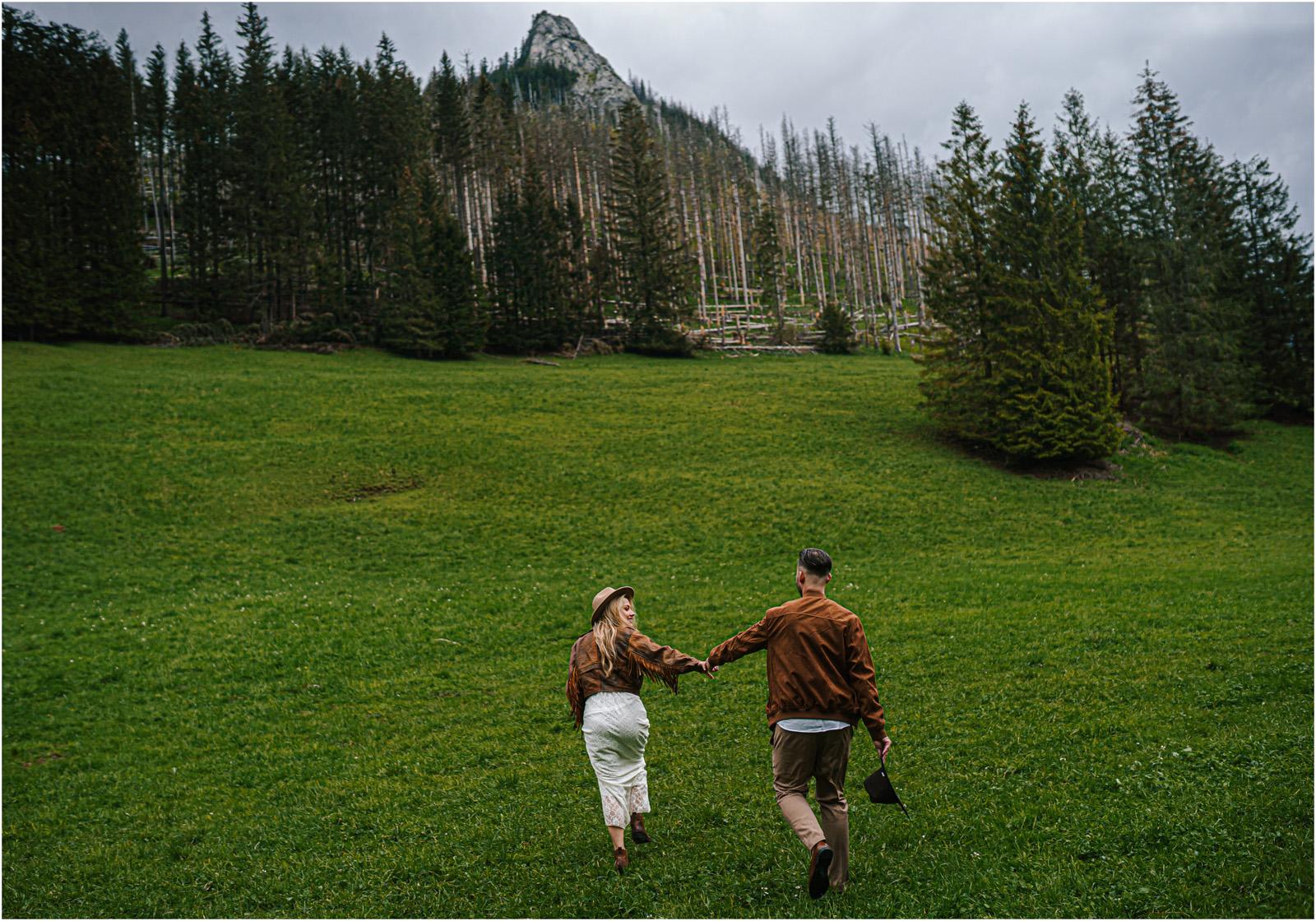 Amanda & Błażej | ślub i sesja w górach 75