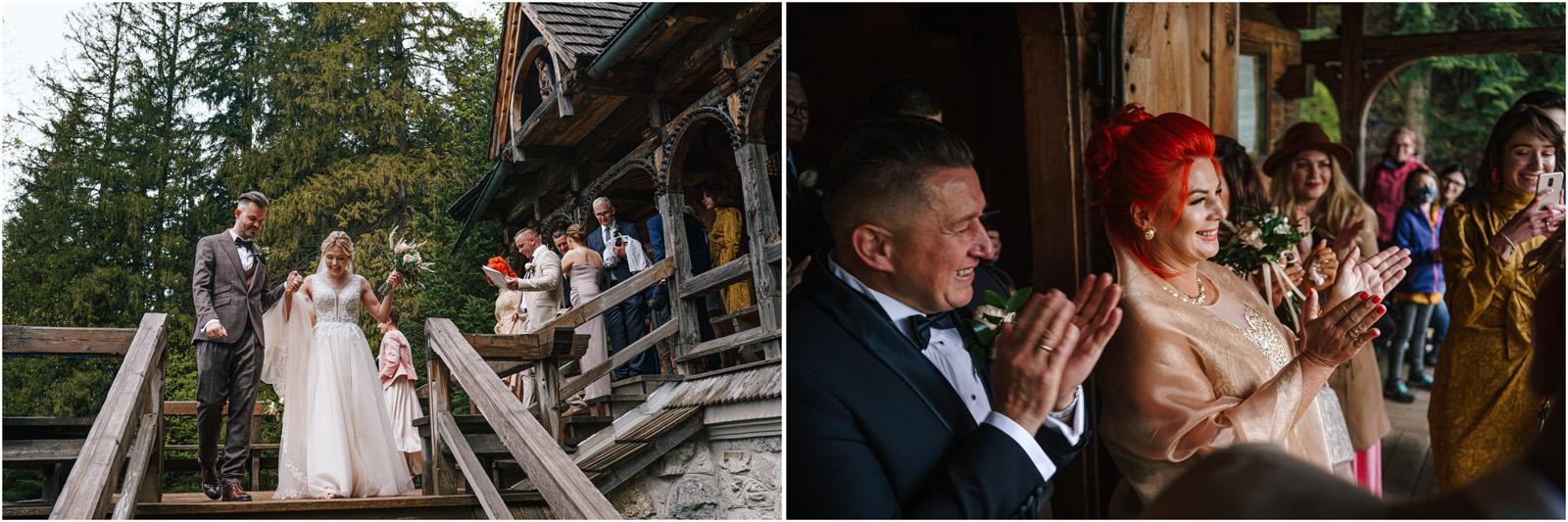 Amanda & Błażej | ślub i sesja w górach 41