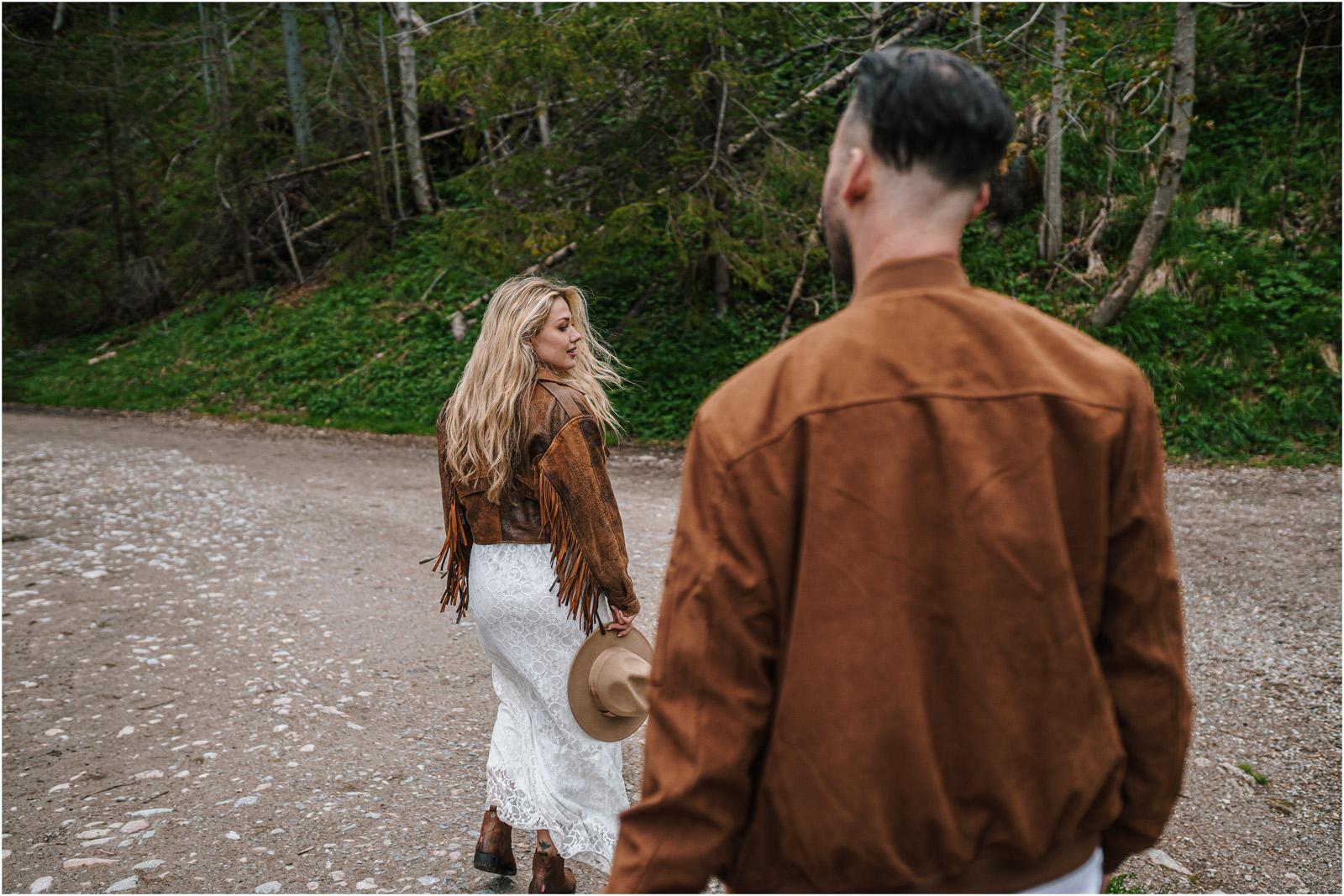 Amanda & Błażej | ślub i sesja w górach 74