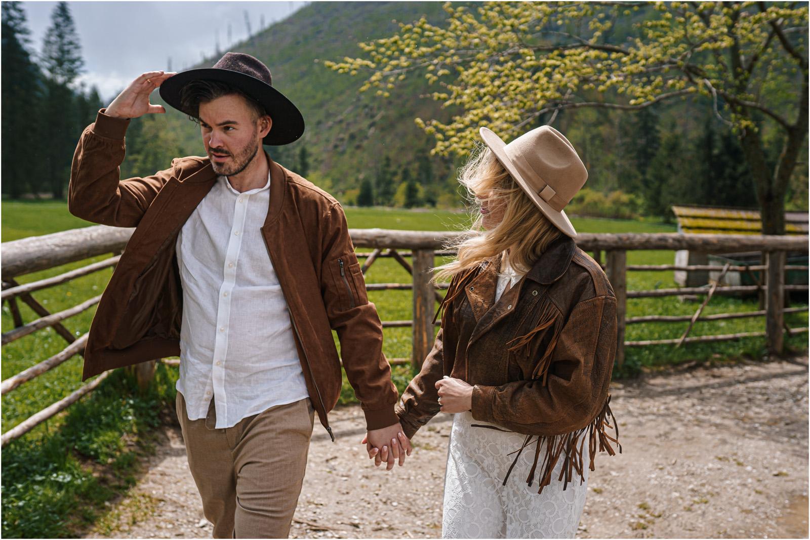 Amanda & Błażej | ślub i sesja w górach 57