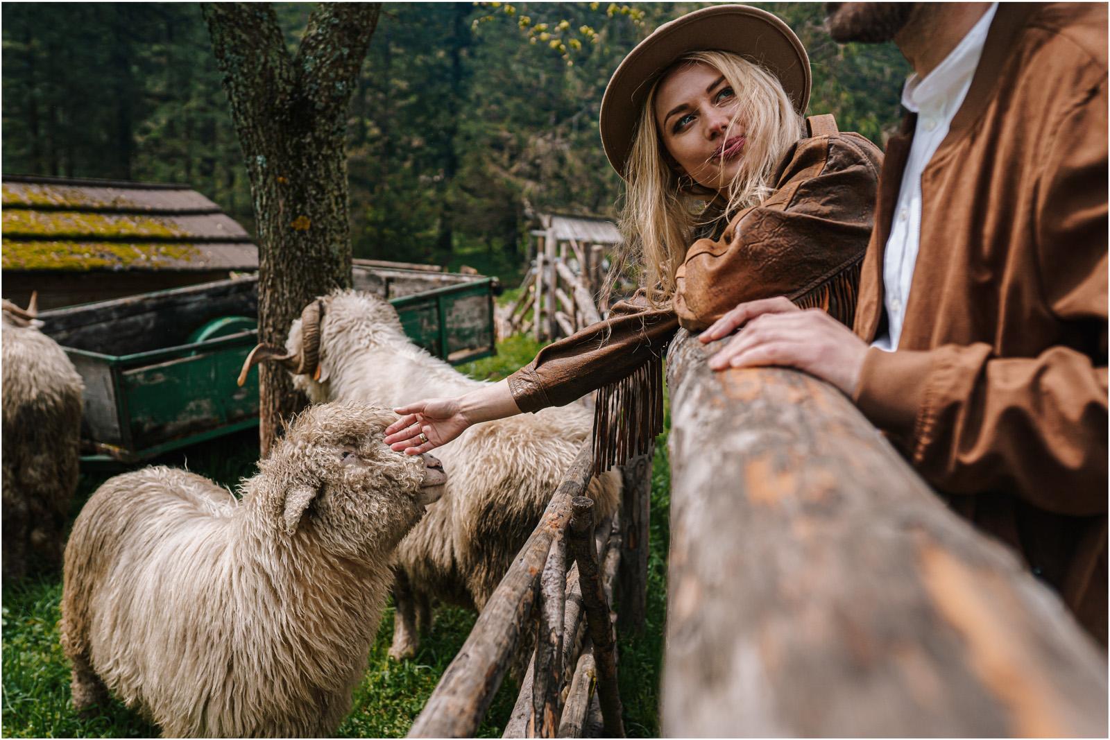 Amanda & Błażej | ślub i sesja w górach 61