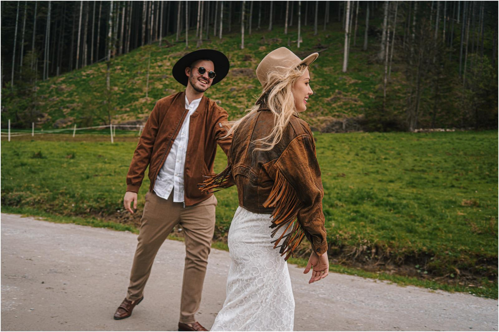 Amanda & Błażej | ślub i sesja w górach 55