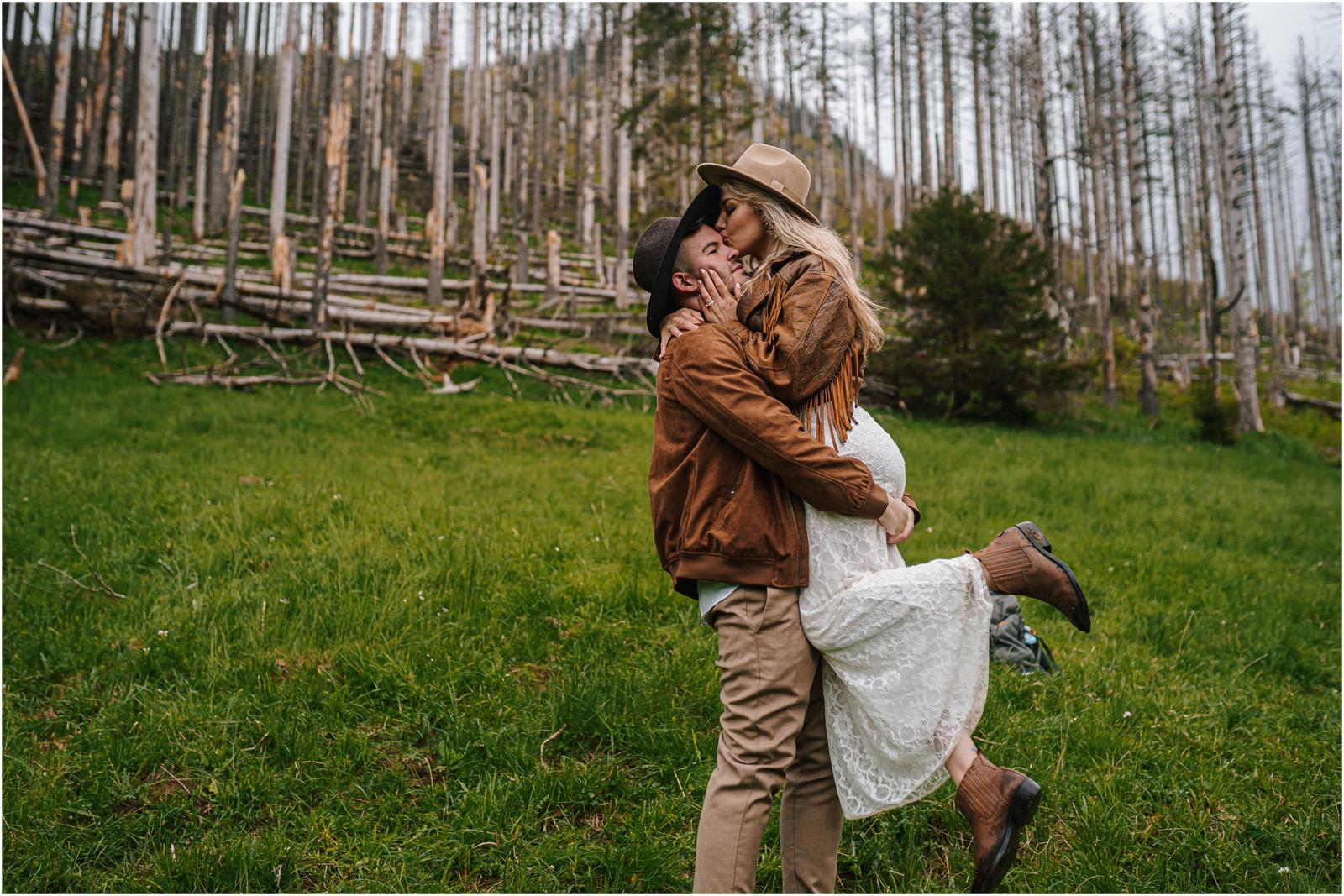 Amanda & Błażej | ślub i sesja w górach 77