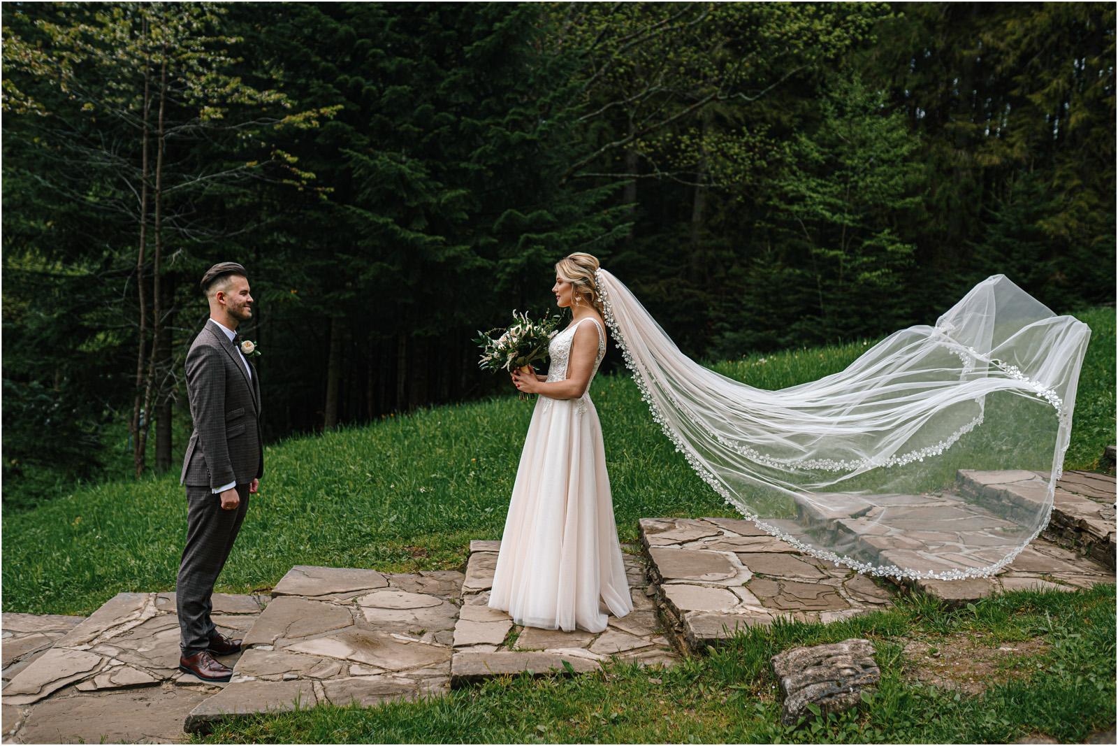 Amanda & Błażej | ślub i sesja w górach 46