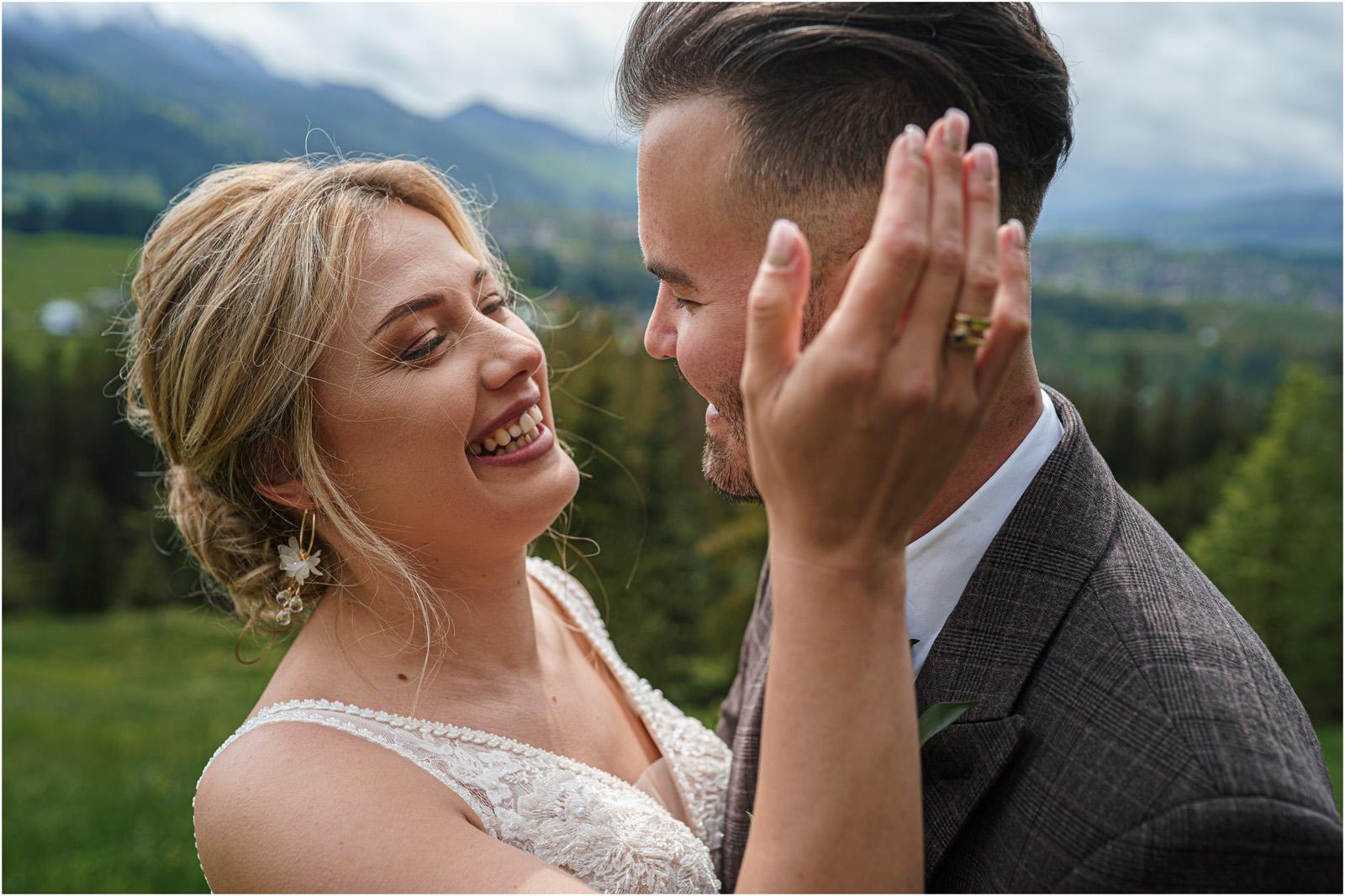 Amanda & Błażej | ślub i sesja w górach 50