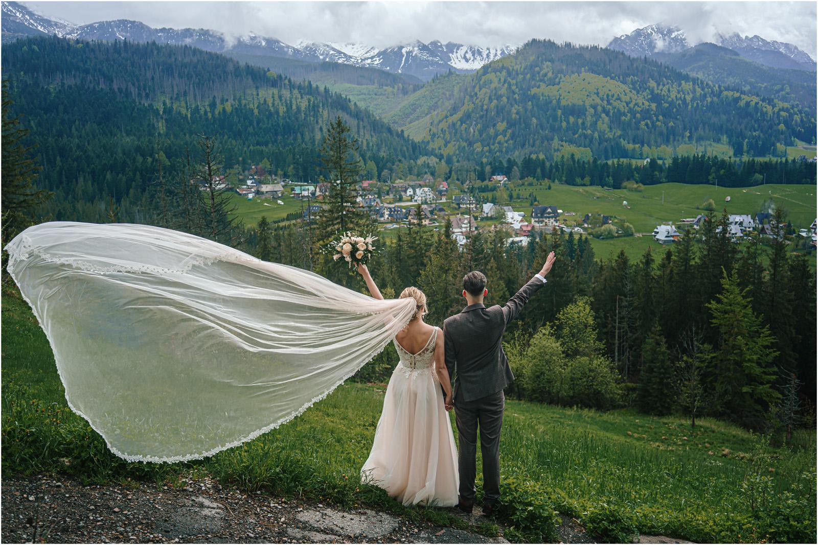 Amanda & Błażej | ślub i sesja w górach 51