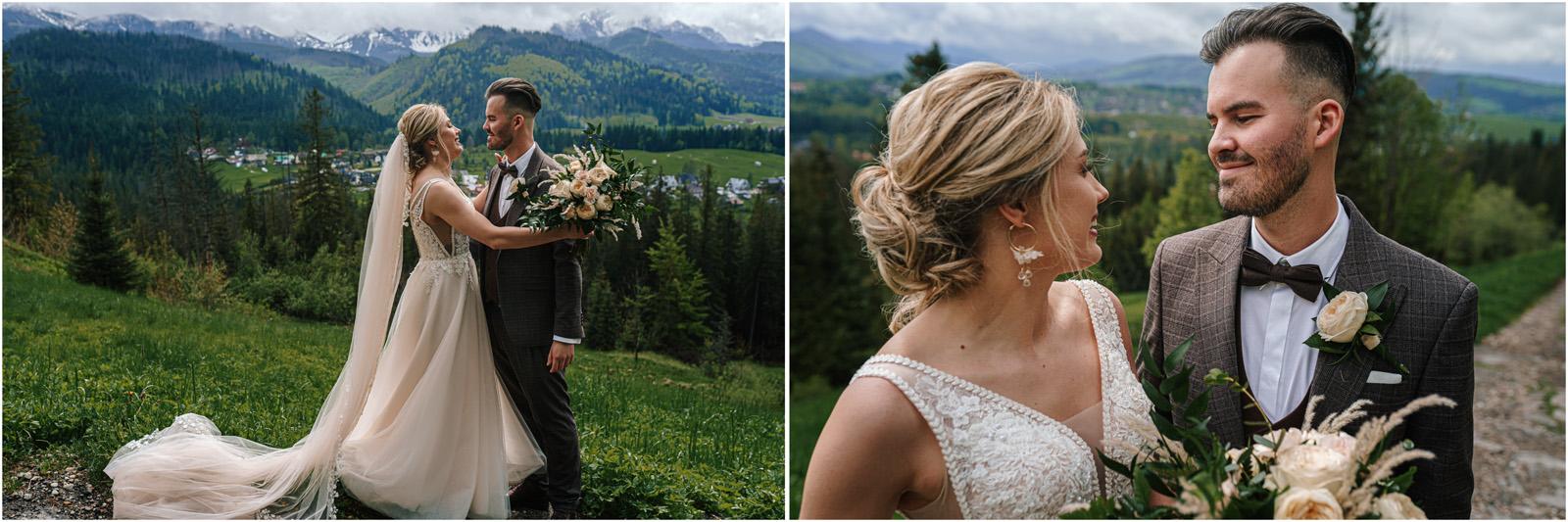Amanda & Błażej | ślub i sesja w górach 48