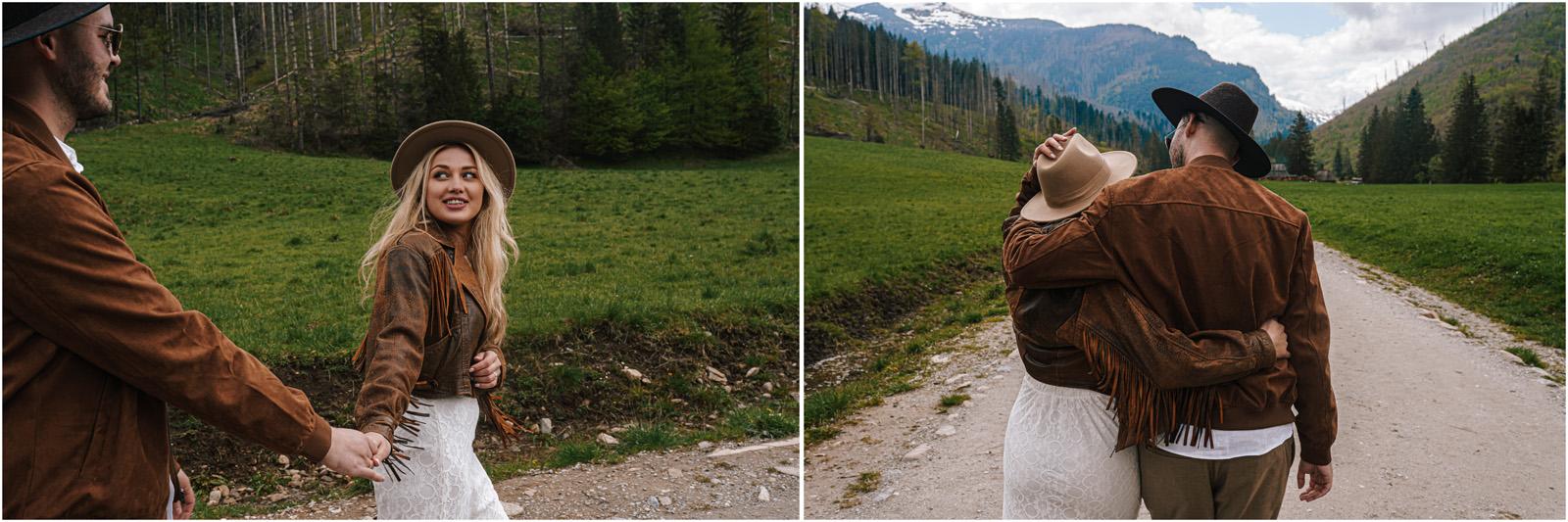 Amanda & Błażej | ślub i sesja w górach 54