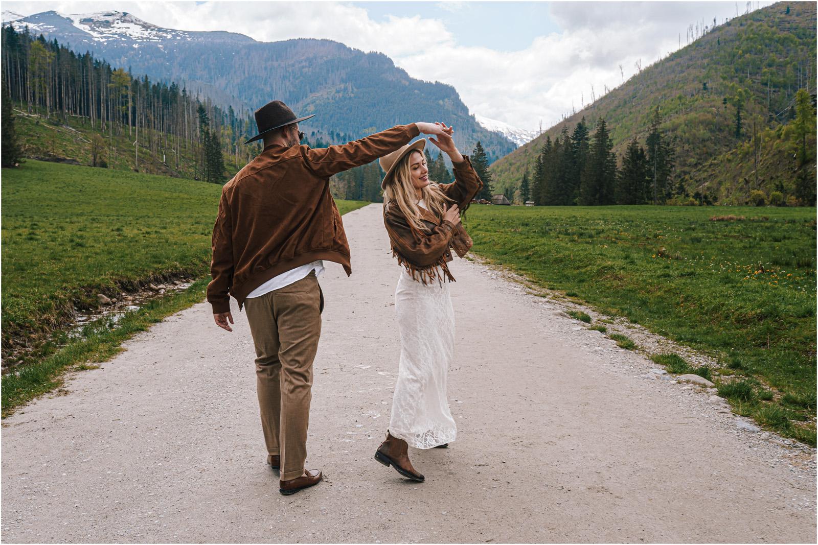 Amanda & Błażej | ślub i sesja w górach 56