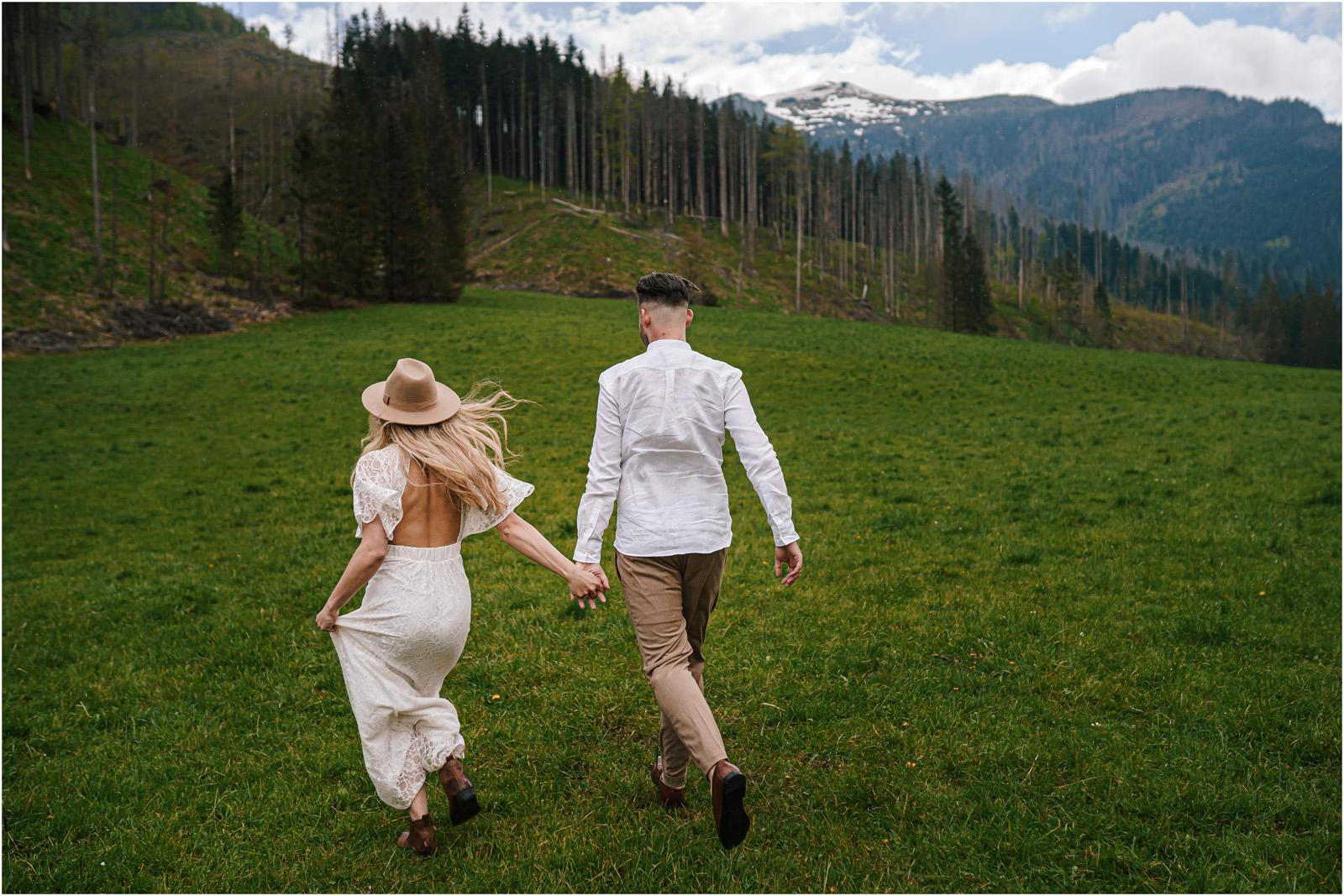Amanda & Błażej | ślub i sesja w górach 65