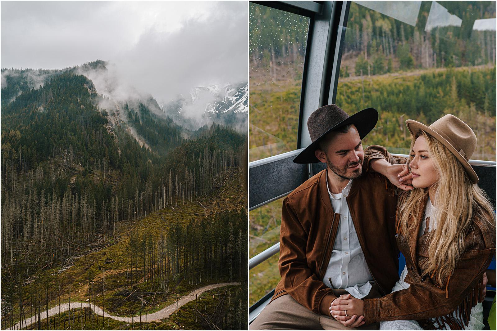 Amanda & Błażej | ślub i sesja w górach 86